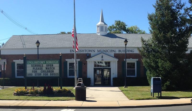 Englishtown NJ Municipal building DWI