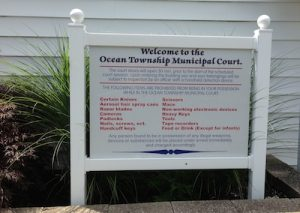 Ocean Township court for DWI